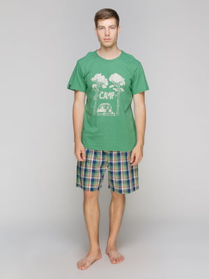 Піжама: футболка і шорти | 5070779