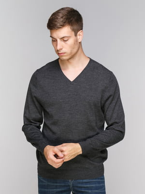 Пуловер темно-сірий | 5082251