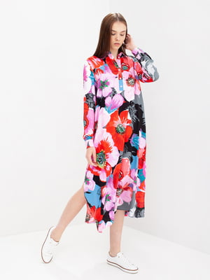 Сукня в квітковий принт - Evercode - 5086523