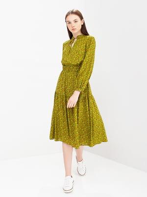 Сукня в квітковий принт   5086530