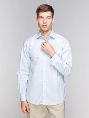 Рубашка голубая | 4854840
