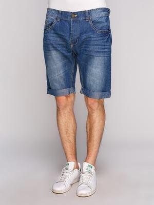 Шорты синие джинсовые | 4855065