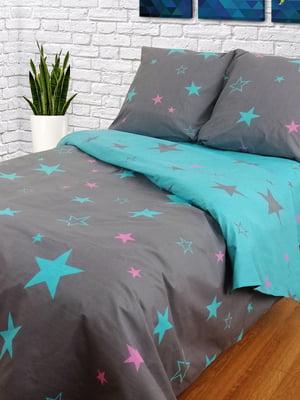 Комплект постельного белья двуспальный | 4887730