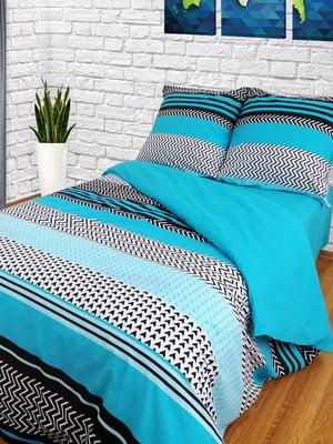 Комплект постельного белья двуспальный (евро) | 5098508