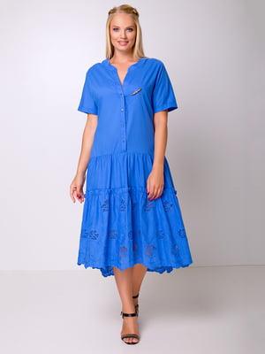Сукня волошкового кольору | 5104777