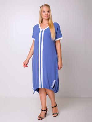 Сукня синя | 5104786