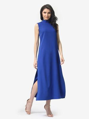 Платье цвета электрик   5104831