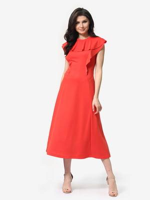 Сукня коралова | 5104836