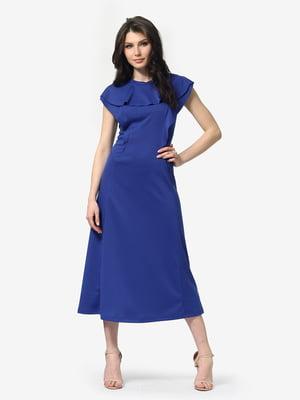 Сукня кольору електрик | 5104838