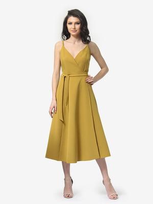 Сукня гірчичного кольору | 5104854