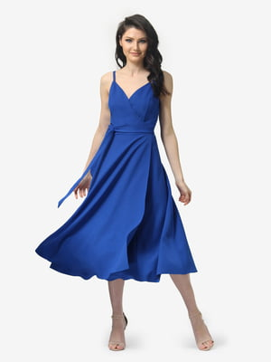 Сукня кольору електрик | 5104855