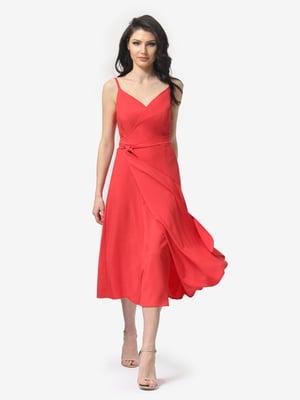Сукня коралова | 5104856