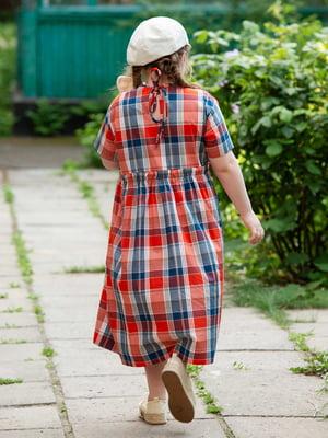 Платье клетчатое | 5104914