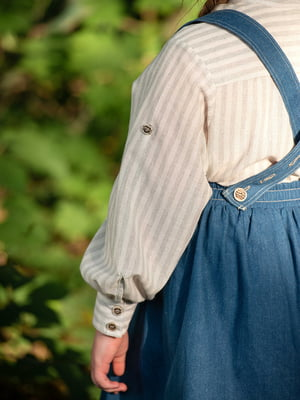 Рубашка в полоску | 5104917