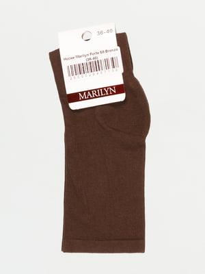 Носки бронзового цвета | 4810697