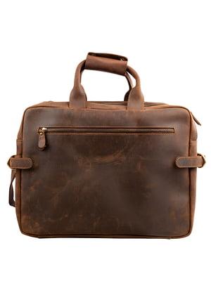 Портфель коричневий | 5105058