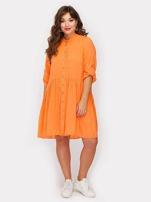 Платье оранжевое | 5105104