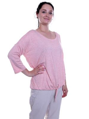 Лонгслів світло-рожевий | 5091922