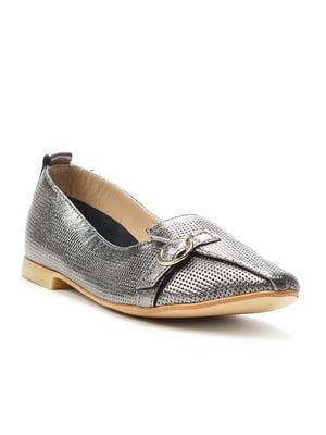 Туфлі кольору нікелю | 4915086