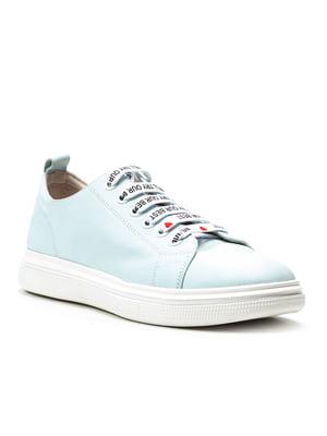 Кроссовки голубые | 4874789
