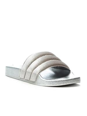 Шльопанці сріблясті | 5089382