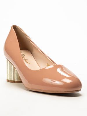 Туфли бежевые   5101343