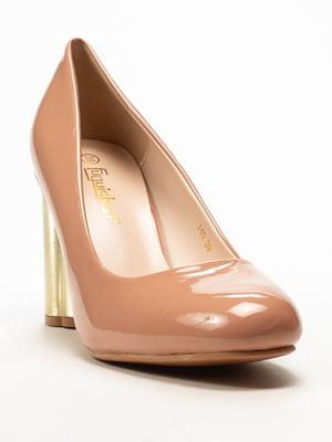 Туфли пудрового цвета | 5101339