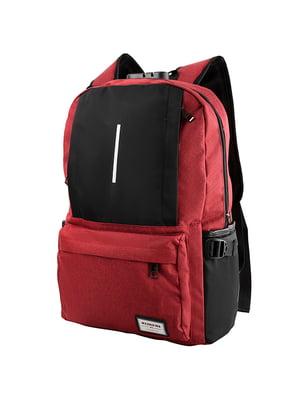 Рюкзак червоно-чорний   5087435