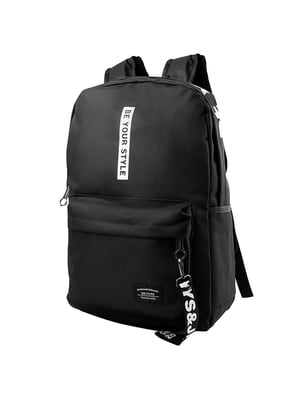 Рюкзак чорний | 5087448