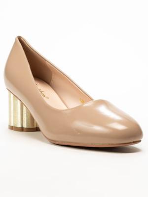 Туфли бежевые | 5101351