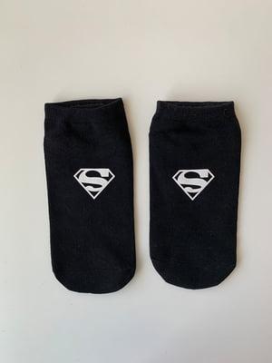 Носки черные с рисунком | 5106999