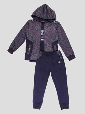 Комплект: толстовка, штани та лонгслів | 5096560