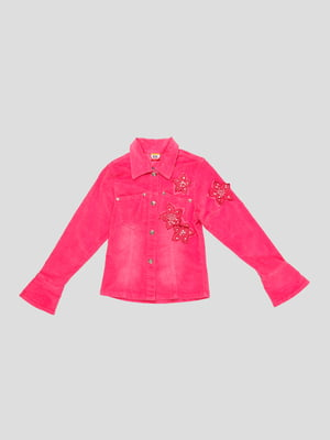 Жакет розовый | 4339593