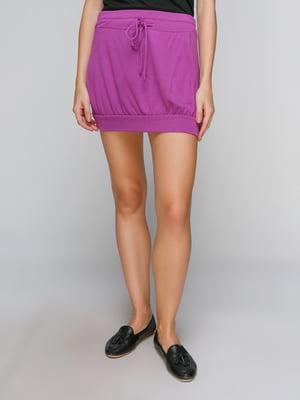 Юбка фиолетовая | 3441691