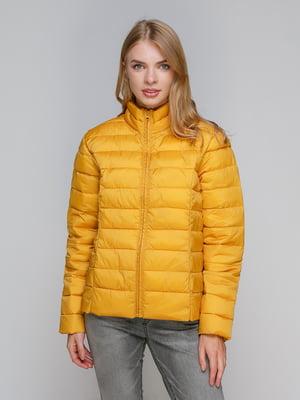 Куртка горчичного цвета   4472377