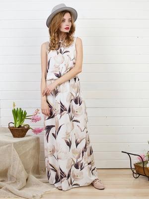 Платье в принт | 5101015