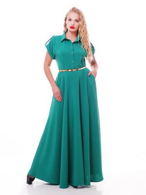 Платье зеленое | 5108915