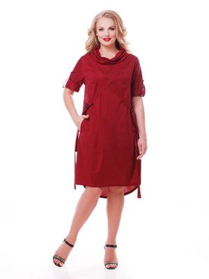 Сукня бордова | 5108918