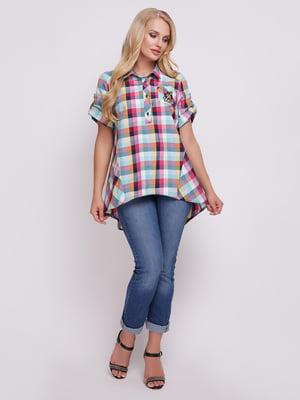 Рубашка клетчатая   5108936