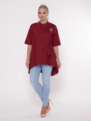 Блуза бордова   5108997