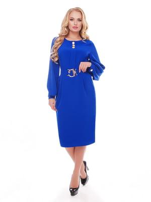 Платье цвета электрик | 5109018