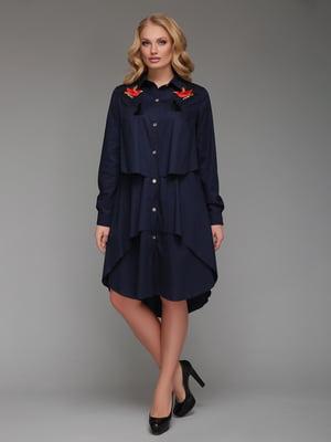 Платье темно-синее | 5109023