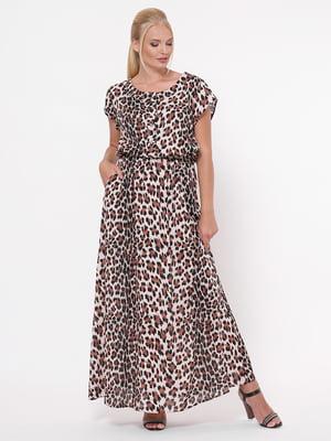 Сукня анімалістичного забарвлення | 5109075