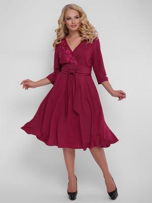 Сукня бордова | 5109081