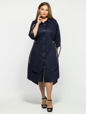 Сукня темно-синя | 5109251