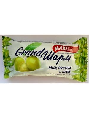 Крем-мыло твердое Grand Шарм Maxi «Молочный протеин & Оливка» (140 г) | 4885473