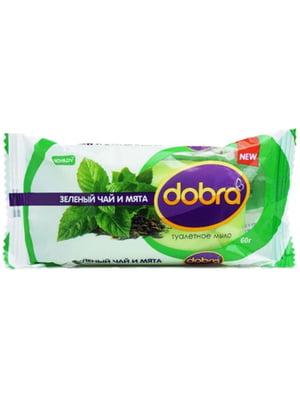Мыло твердое Bovary Dobra «Зеленый чай и мята» (60 г) | 4915968