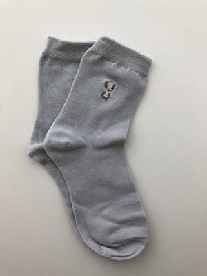 Шкарпетки сіро-блакитні | 5106963