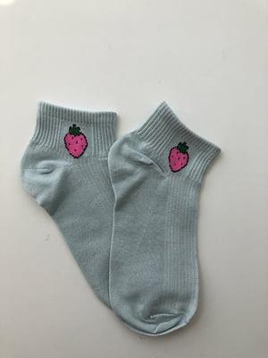 Шкарпетки блакитні | 5106970