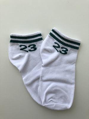 Шкарпетки біло-чорні | 5106982